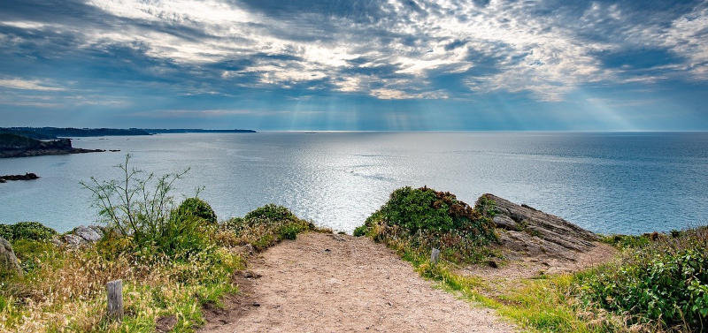 Pointe du Grouin en Bretagne Nord