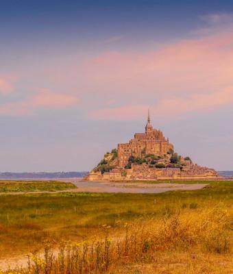 Le mont Saint Michel, emblème du littoral de la Manche